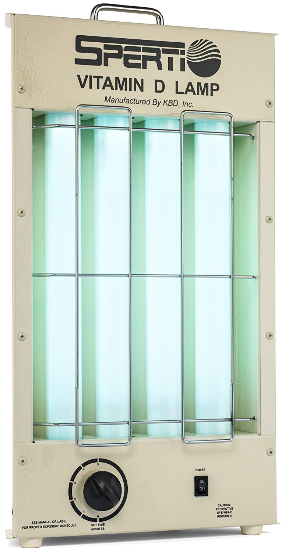 Amazon.com: D/UV-F KBD Sperti Fluorescent Table Top Lamp: Health ...