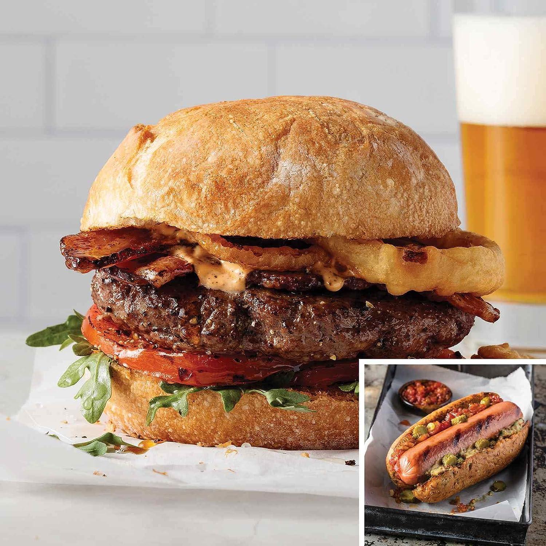 32 Omaha Steaks Burgers & 32 Gourmet Jumbo Franks