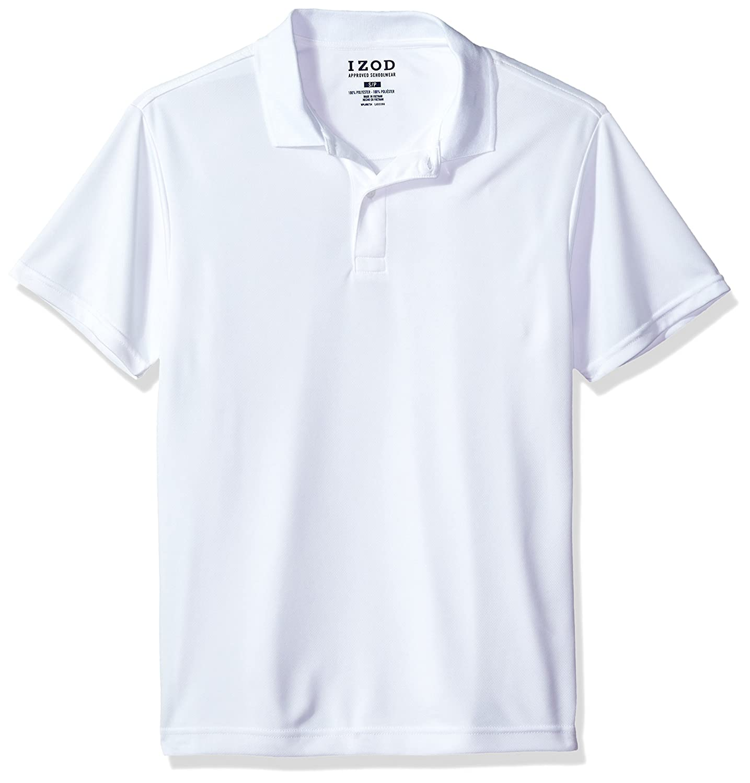 Amazon Izod Uniform Young Mens Short Sleeve Performance Polo