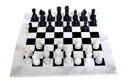 daf4fe14c1ffcc Amazon.com  RADICALn Completely Handmade Original Marble Chess Board ...