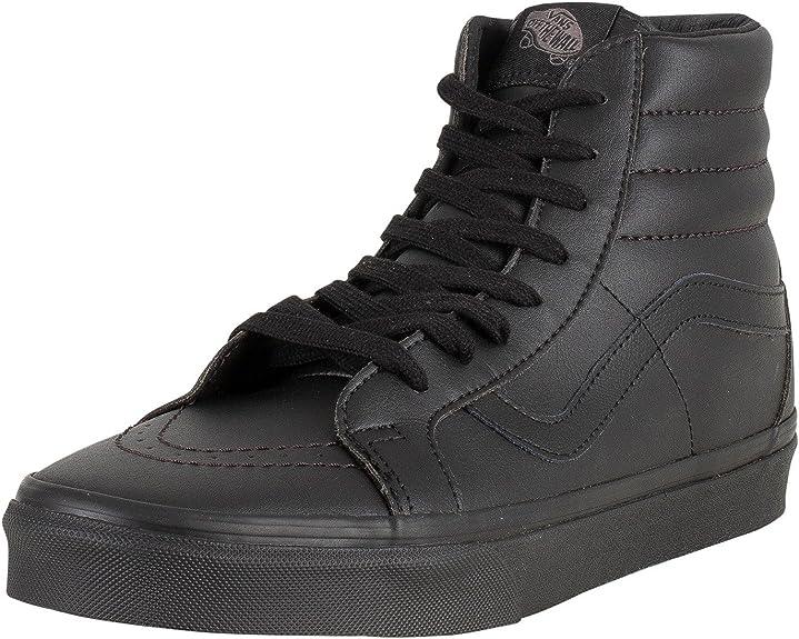 chaussures vans cuir