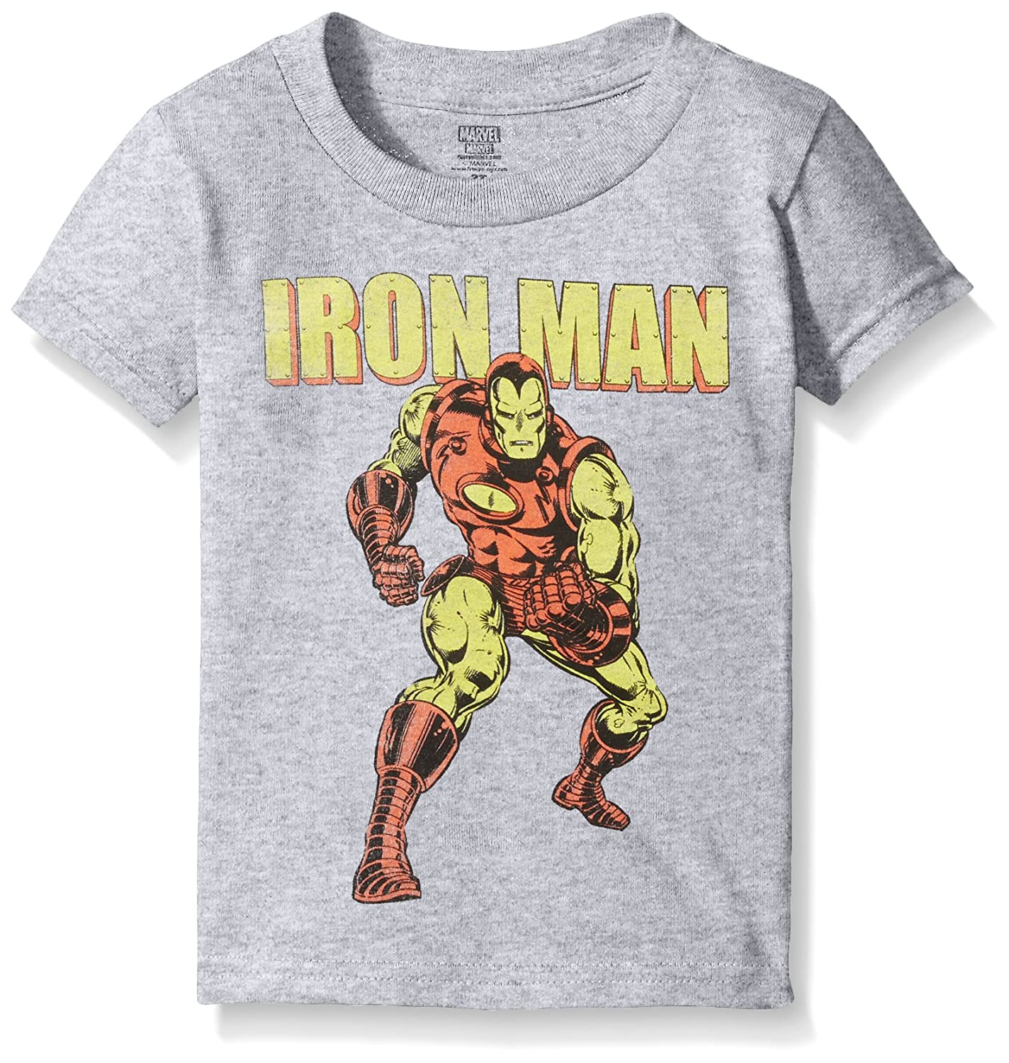 Marvel Boys Toddler Boys Iron Man Short Sleeve Tee Freeze Children' s Apparel RVSBV92-02T