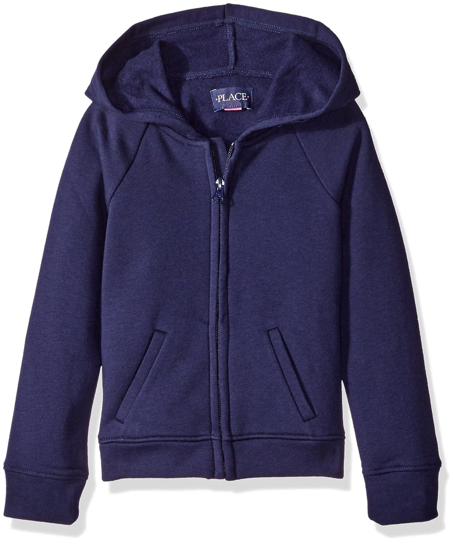 The Children's Place Girls' Uniform Hoodie Sweatshirt Tidal X-Small/4 2062832001