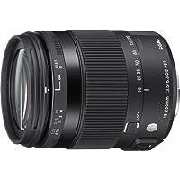Sigma 885 Obiettivo 18-200 mm F 3.5/6.3 AF DC MACRO OS HSM, Attacco Canon, Nero