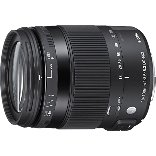 Sigma 18-200mm F/3.5-6.3 DC OS HSM Lens for Canon