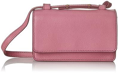 Damen Damentasche - Mila Minitasche Umhängetasche, Pink (Wild Rose), 3.81x11.43x16.510000000000002 cm Fossil