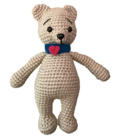 Get 70 Crochet Teddy Bear Patterns for free. See tons of photos ... | 450x378