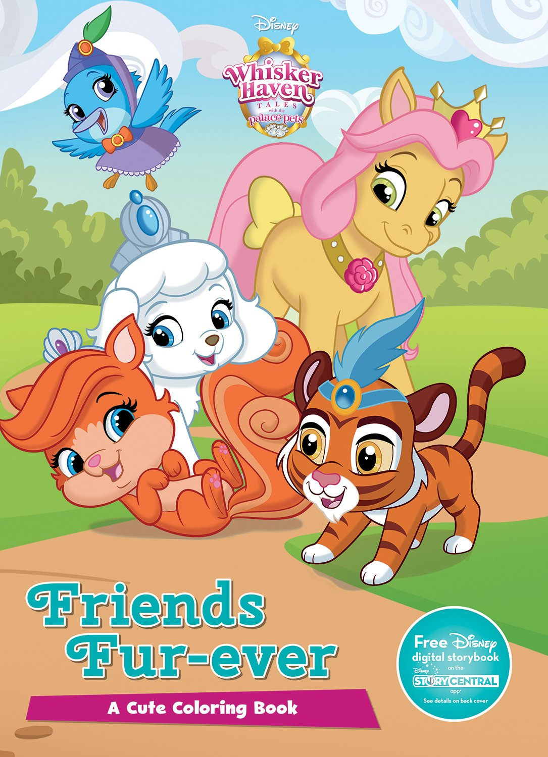 Disney Whisker Haven Friends Fur Ever Color It Whisker Haven Tales With The Palace Pets Parragon Books Ltd 9781474839600 Amazon Com Books