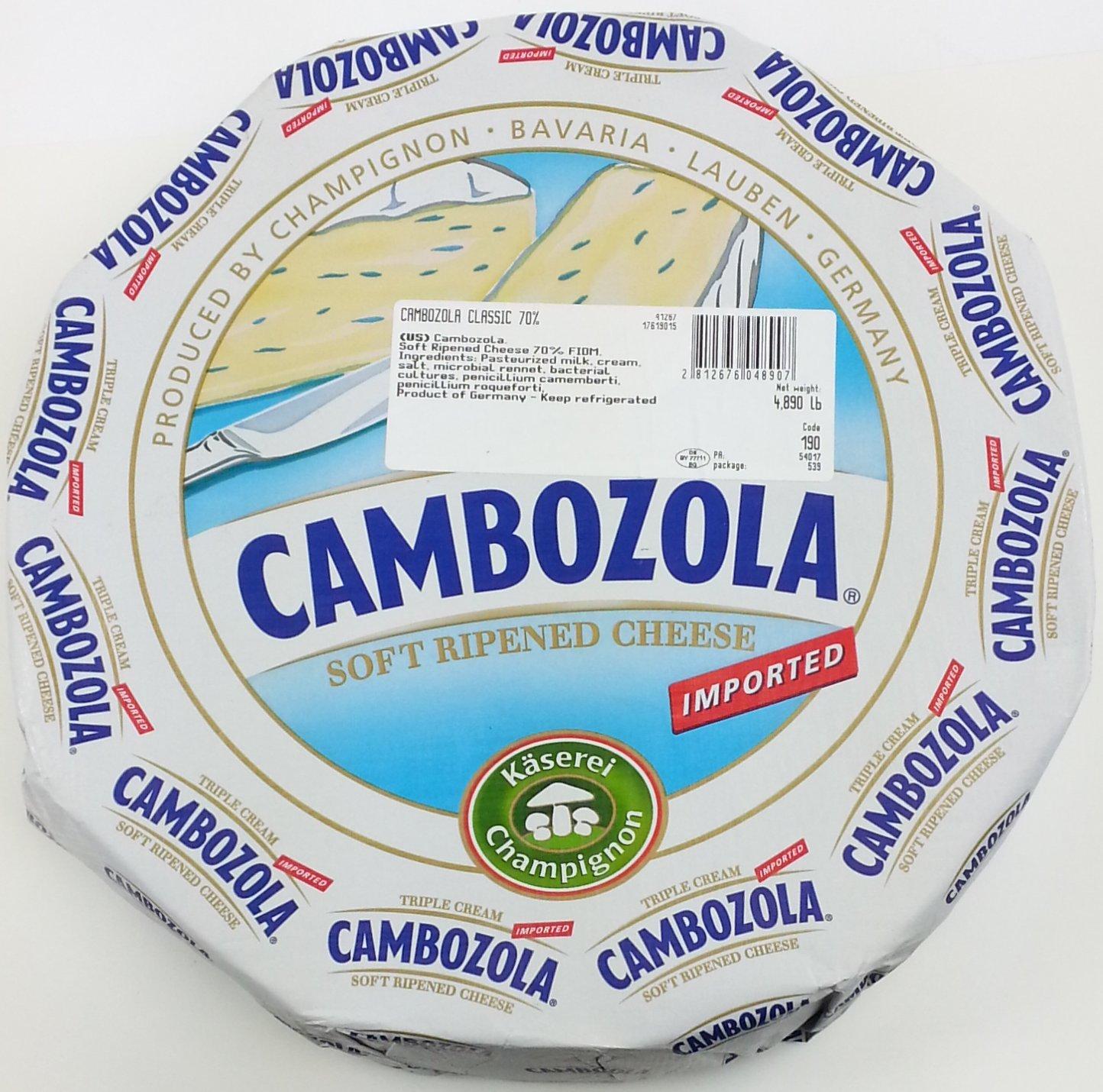 Kaserei Champignon, Cambozola Cheese (2x1 pound)