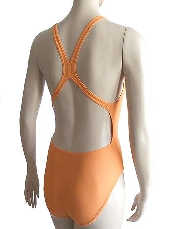 a2cb01786982 Tuta da nuoto Speedo/costume da bagno intero da 247119684 rosa salmone:  Amazon.it: Sport e tempo libero