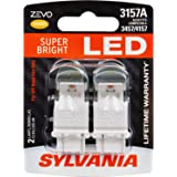 SYLVANIA ZEVO 3157 Amber LED Bulb, (Contains 2 Bulbs)