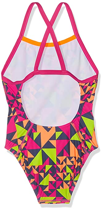 d2cd0c09cfdb Speedo Fluotime Allover Thinstrap Crossback, Costume da Bagno Bambina:  Amazon.it: Abbigliamento