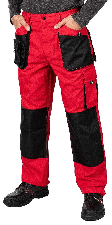Colori Diversi Cargo Combat Pantaloni da Lavoro con Tasche al Ginocchio Taglie Grandi Fino S-3XL Pantaloni da Lavoro Uomo qualit/à