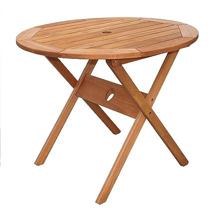 Amazonia Bistro Folding Eucalyptus Table