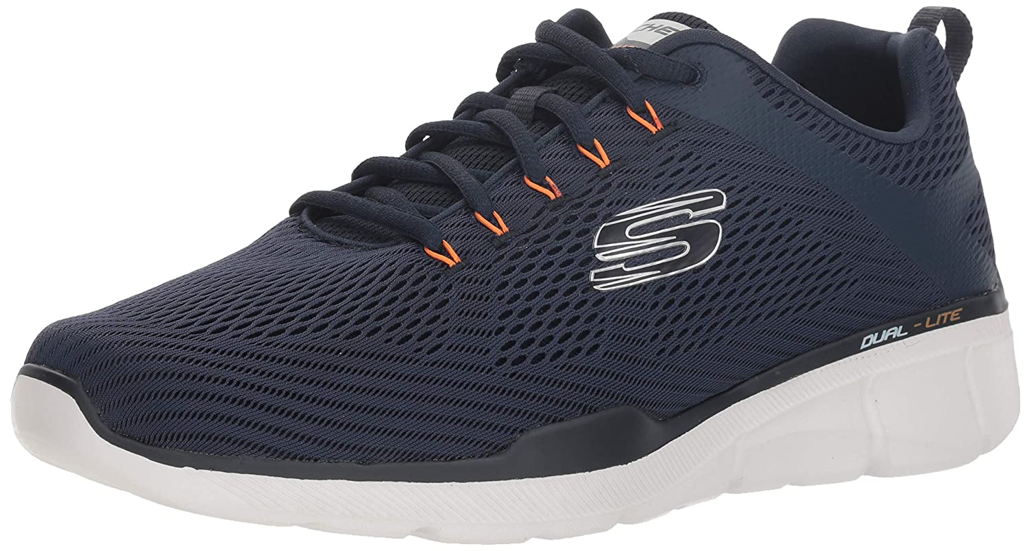 Skechers 52927 NVY: Mens Equalizer 3.0 Navy Running Sneakers (9.5 D(M) US Men)