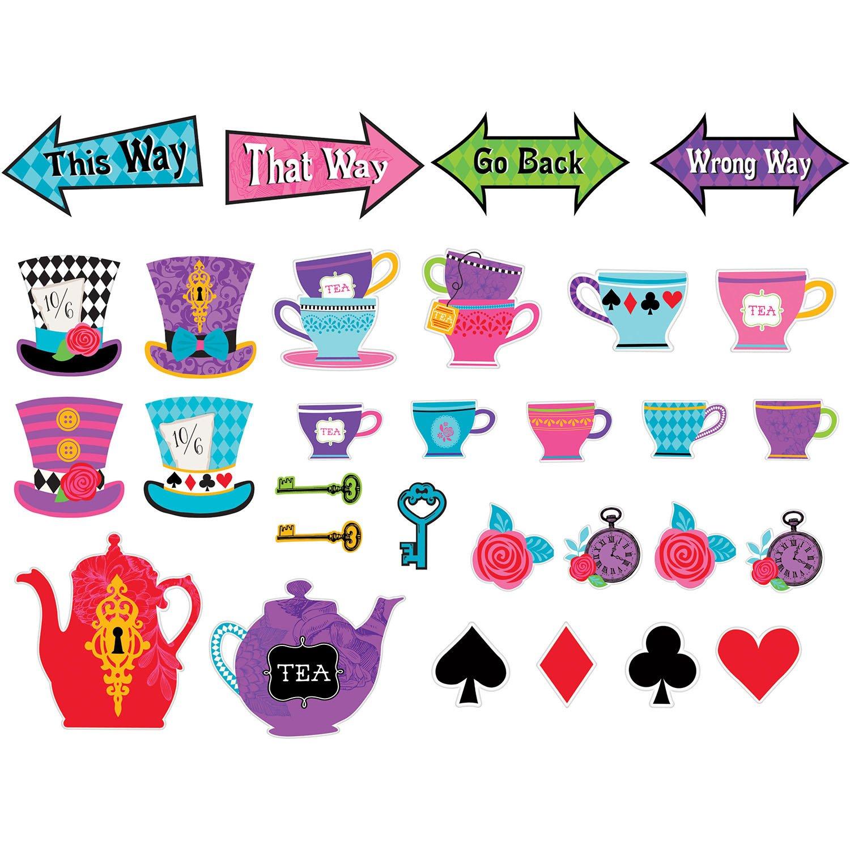Mad Tea Party Cutouts (30 ct)