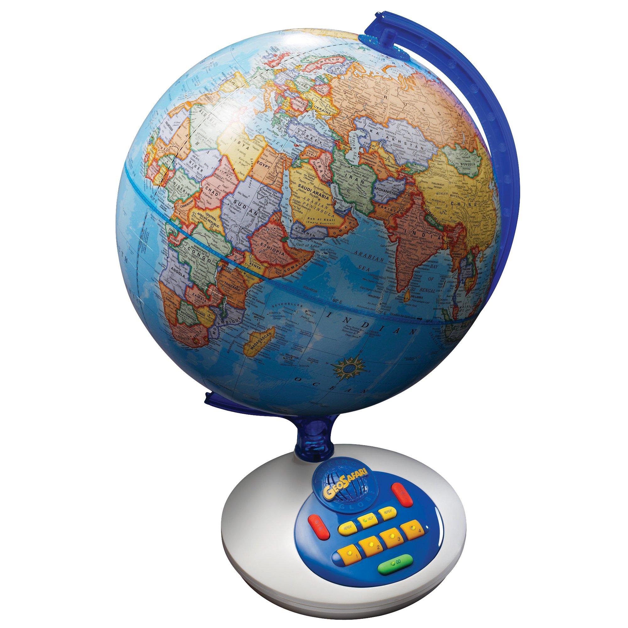 Educational Insights GeoSafari Talking Globe by Educational Insights