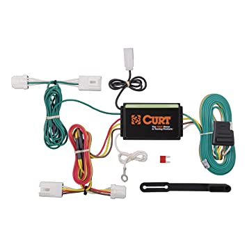curt 55571 vehicle side custom 4 pin trailer wiring harness for select nissan murano Nissan Wiring Schematics