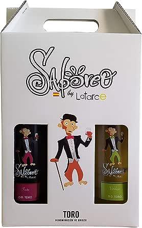 Estuche 3 Botellas Vino Latarce Saboreo 2018 D. O Toro | Botellas Vino Tinto/Verdejo/Rosado: Amazon.es: Alimentación y bebidas