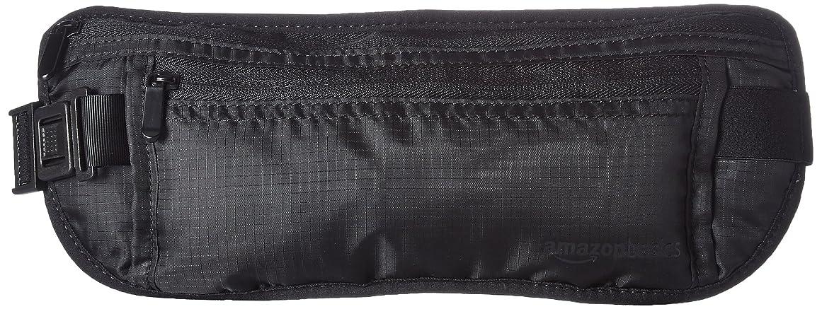 パウダー民兵不安定(バッグスマート)BAGSMART 貴重品入れ シークレット ウエストポーチ 旅行用品 トラベルポーチ ブラック