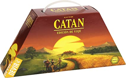 Devir - Catan, juego de mesa (222579) - Edición de viaje: Amazon.es: Juguetes y juegos