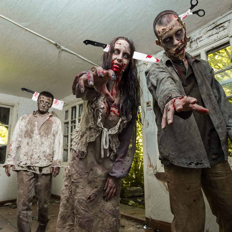 Gejoy 10 Piezas de Diadema de Terror de Halloween Diademas de ...