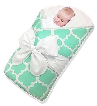 8692aabfedb Bundlebee Baby Wrap Swaddle Blanket Sleep Sack - Built-in Organic Infant