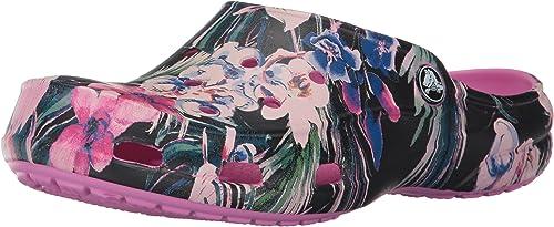 Crocs Freesail Graphic Clog Women,Sabots Femme: Amazon