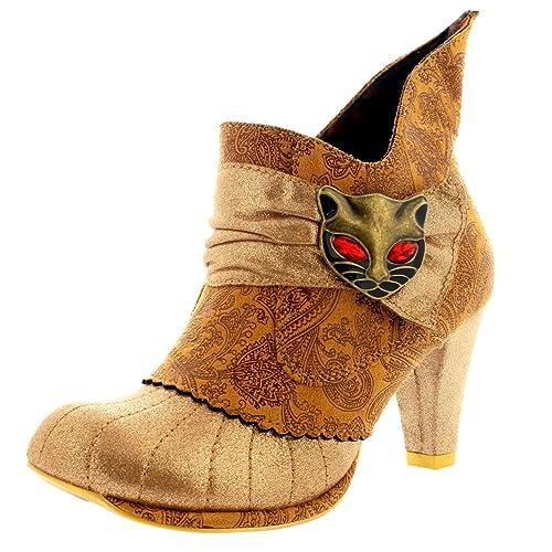 Irregular ChoiceMiaow - Botines mujer , color, talla 43: Amazon.es: Zapatos y complementos