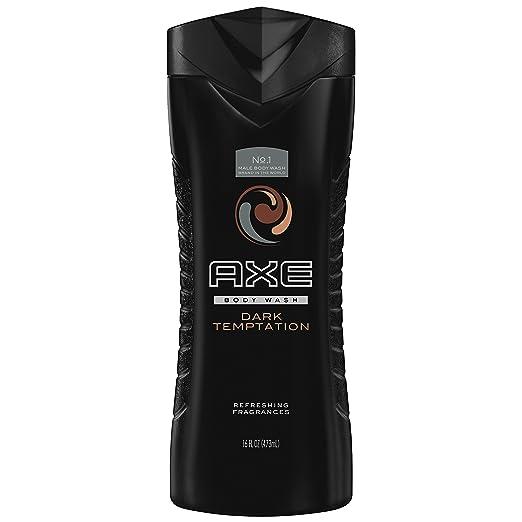 AXE Body Wash for Men, Dark Temptation 16 oz