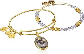 product image for Alex and Ani Women's Art Infusion Set Tree of Life Bangle Bracelet, Shiny Gold, Expandable