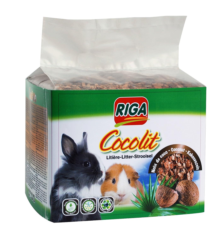 Riga Cocolit Litière Végétale Noix de Coco pour Petit Animal 750 g 004804