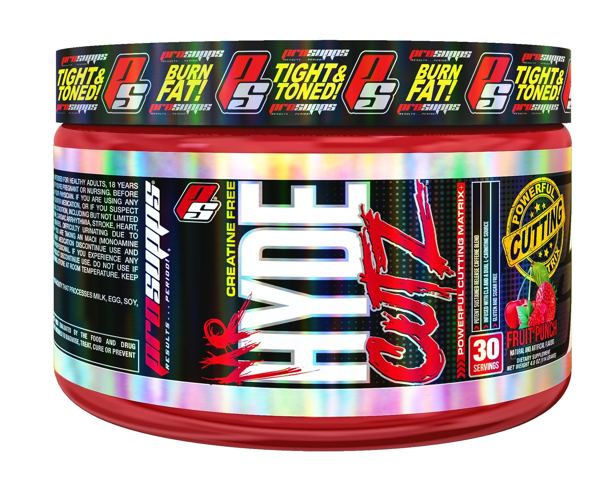 Amazon Com Prosupps Mr Hyde Cutz Pre Workout Powerful