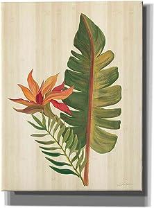 Epic Graffiti 'Tropical Garden VI' by Silvia Vassileva, Canvas Wall Art, 12