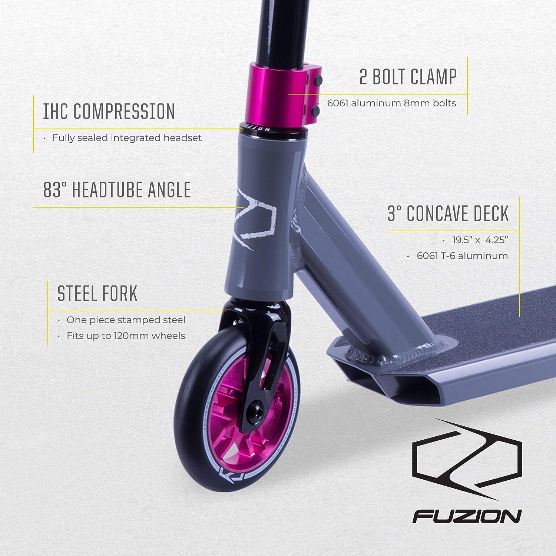 Amazon.com: Fuzion Z250 Pro Scooters - Patinete de carraca ...