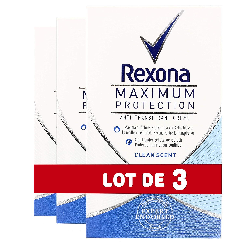Rexona Déodorant Stick Maximum Protection Fresh 45ml - Lot de 3 8712561519304