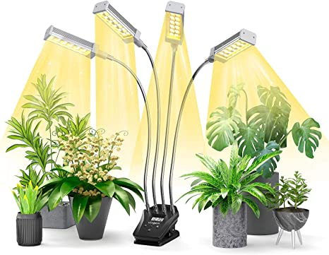 Growing Lamp Full Spectrum for Indoor Plants with Timer Aerb LED Plant Grow Light