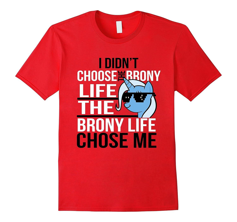 Mens Unique Apparel - Brony T Shirt parody funny-Vaci
