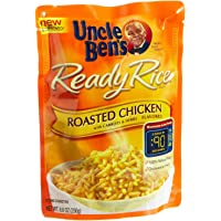 Uncle Ben's, Ready Rice, Roasted Chicken, 8.8oz Pouch (Pack of 6)