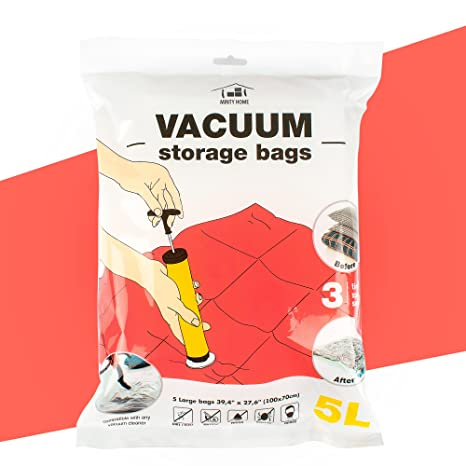 Amazoncom Minty Home Vacuum Space Bags For Storage Of Clothes - Satiya-house-refurbished-to-accommodate-a-larger-family