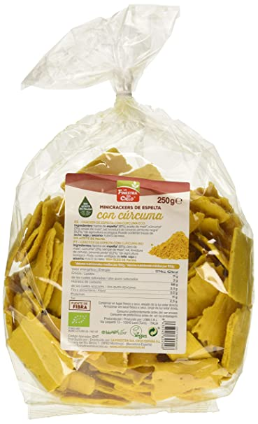 La Finestra Sul Cielo, Crackers de trigo (Mini) - 6 de 250 gr