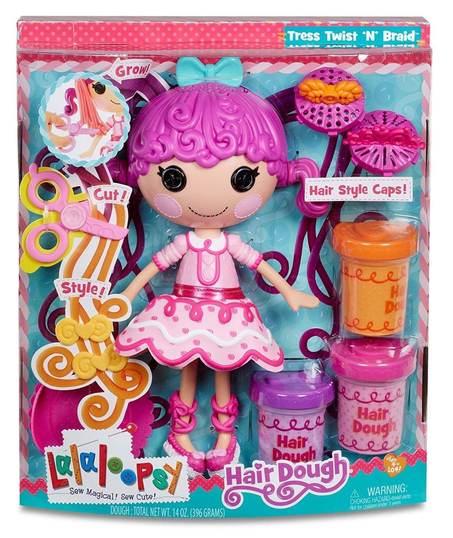 MGA 539490E4C - Lalaloopsy Lalaloopsy Lalaloopsy Hair Dough Doll, Schreibwaren 9366aa