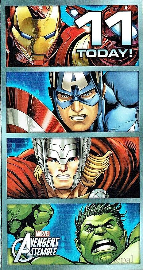 Marvel avengers assemble Tarjeta de felicitación de ...