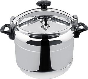 Magefesa Chef Aluminum, 16-Quarts, Fast Pressure Cooker