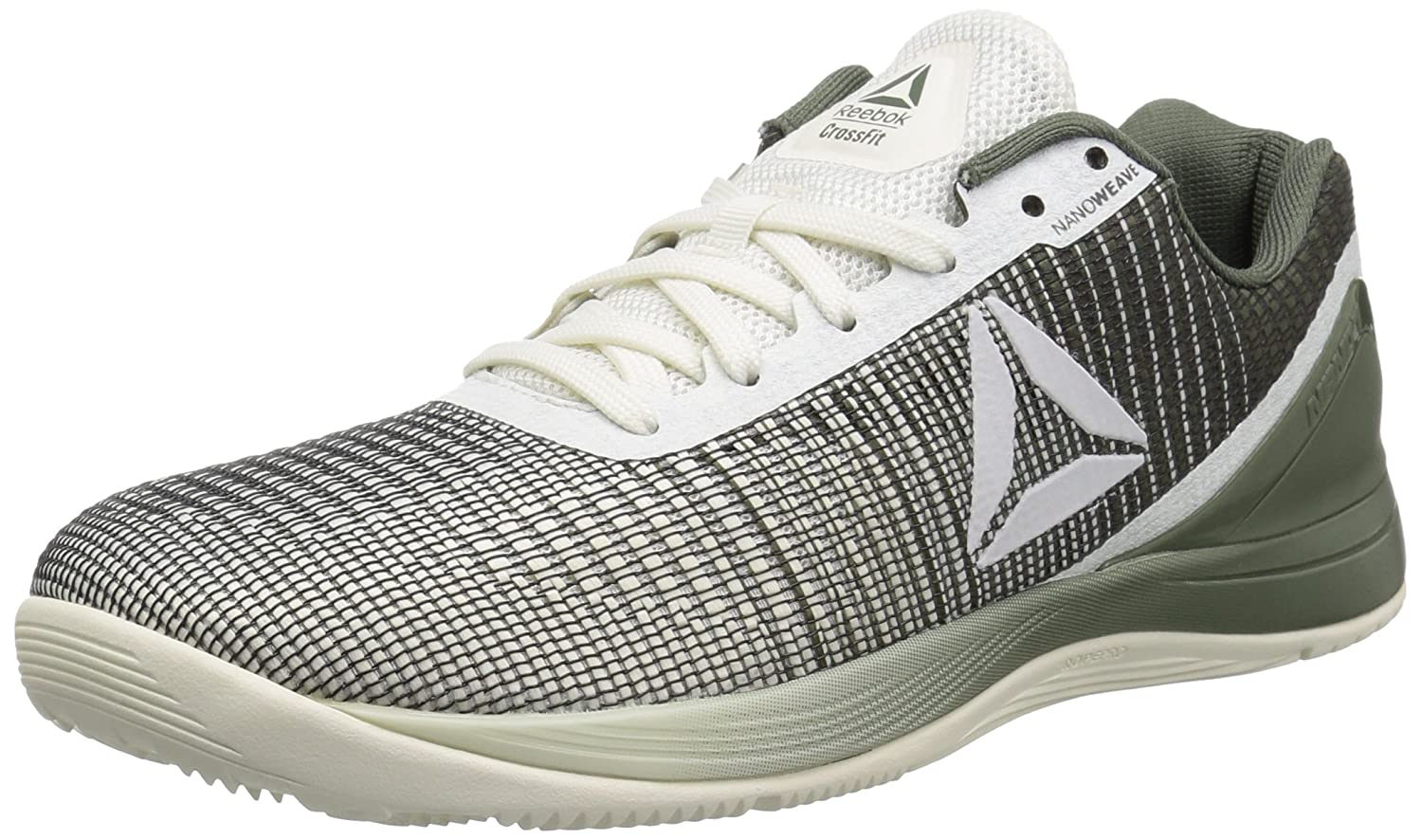 Reebok Women's Crossfit Nano 7.0 Track Shoe B072L1CJ7K 9 B(M) US|Women's Chalk/Hunter Green