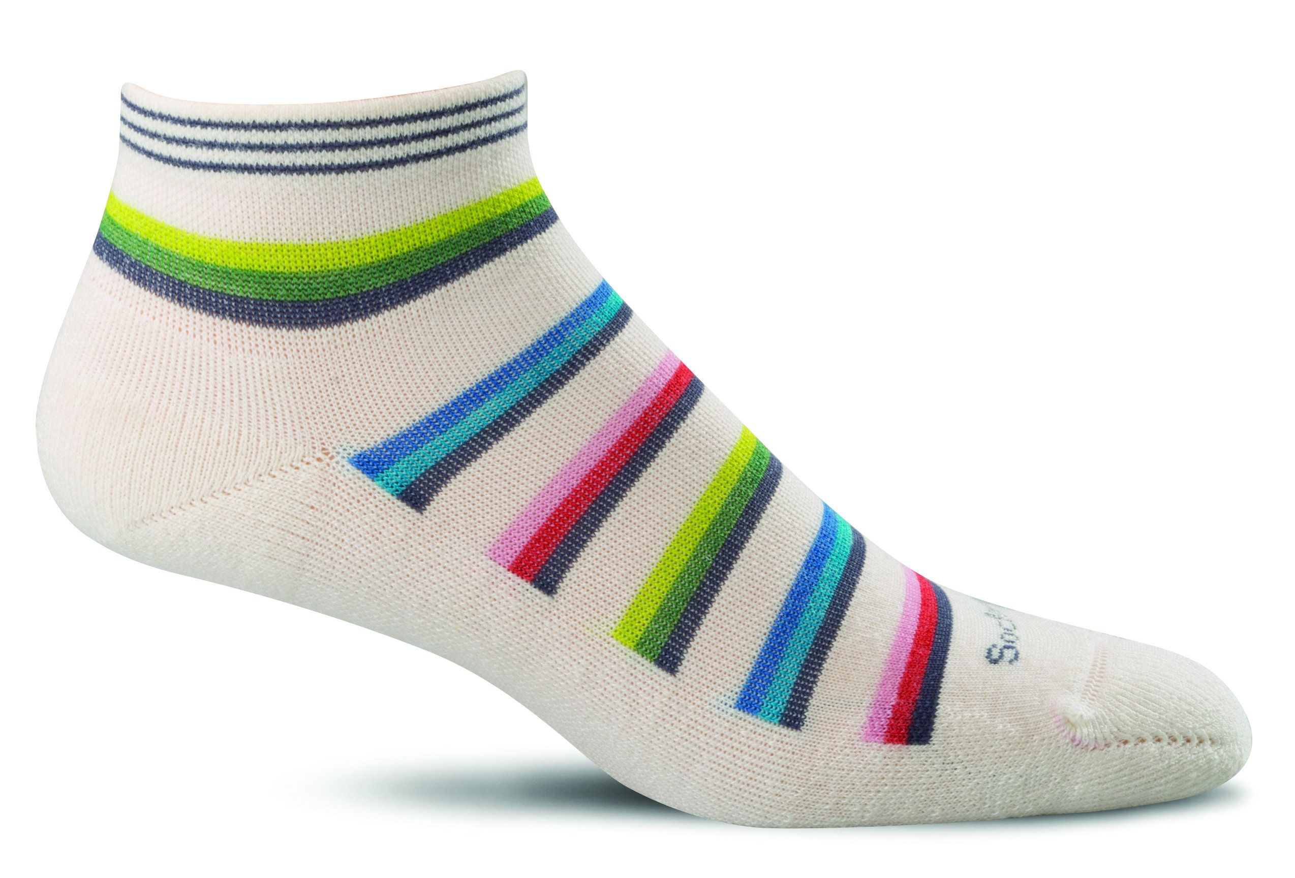 Sockwell Women's Sport Ease Bunion Relief Socks, Small/Medium, Natural