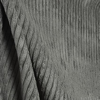 Amazon Com Grey Corduroy Wide Wale Chenille Fabric Accord Steel