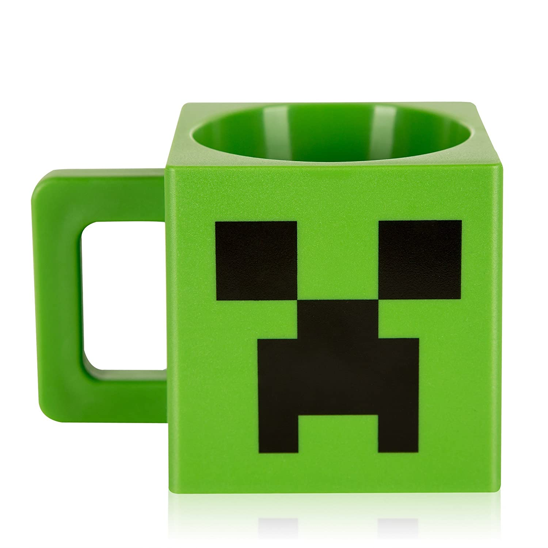 face Minecraft creeper