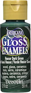 product image for DecoArt Americana Gloss Enamel Paint, 2-Ounce, Hauser Dark Green
