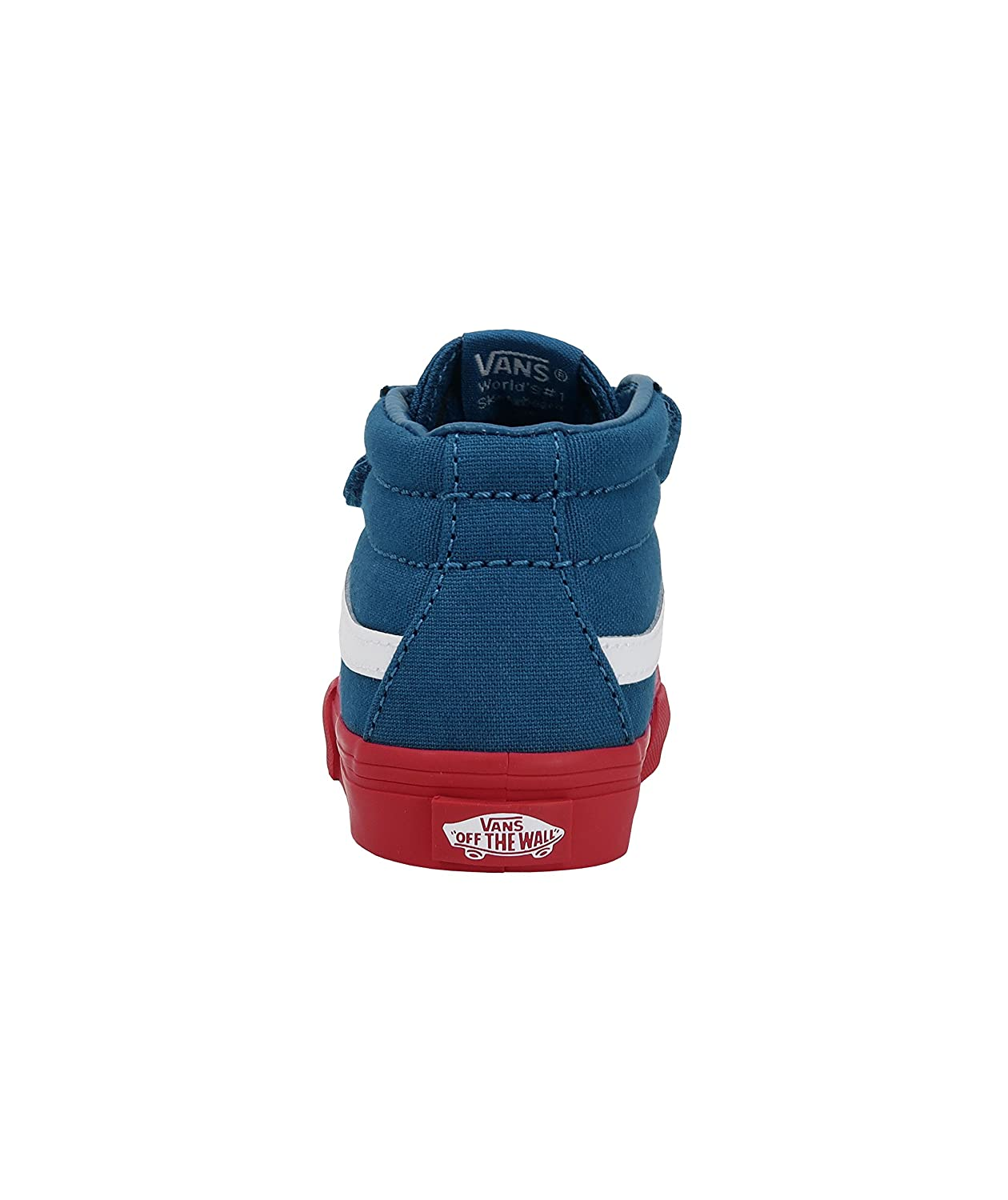 a57c446ad3 Amazon.com  Vans SK8 Mid Reissue V Cosplay Blue Red Infant Toddler Shoes  Boys Girls  Shoes